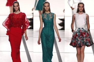 Мода весна-лето 2013: кружевные страсти на показе Elie Saab (фото)