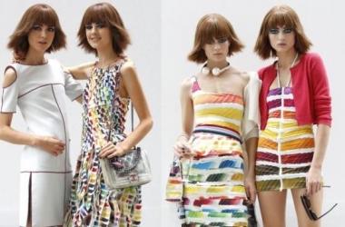 Мода весна-лето 2014: радужно-кружевная коллекция от Chanel (фото)