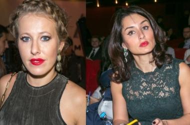 Соперницы Ксения Собчак и Тина Канделаки копируют друг друга (фото)