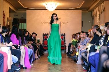 Украинские звезды пришли посмотреть на шоколадное платье от Анастасии Ивановой (фото)