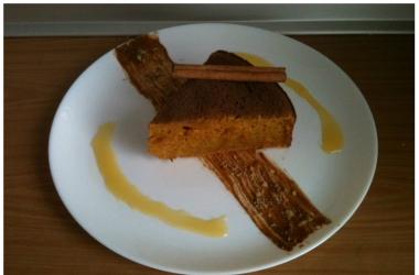 Запеканка из тыквы с корицей и лимоном: рецепт пошаговый с фото