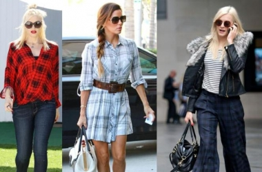 Одежда в клетку 2013: с чем сочетать и как носить тренд-вещи (фото)