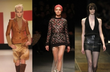 Модные юбки осень зима 2013: кожа, мех, креатив и секс (фото)