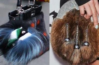 Модные сумки осень зима 2013: выбирай теплую и пушистую (фото)