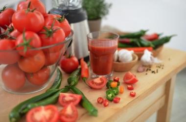 Овощной коктейль: польза и удовольствие