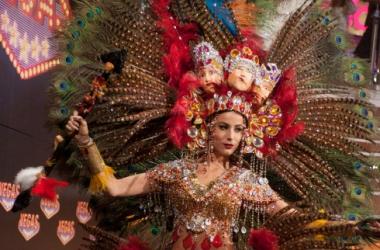 Мисс Вселенная 2013: странный национальный костюм стал лучшим (фото)