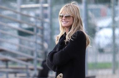 Новый год 2014: Хайди Клум уже купила елку (фото)