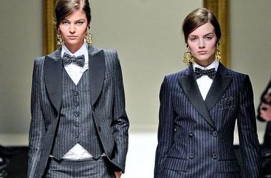 Мужской стиль в женской одежде: это тренд! (фото)