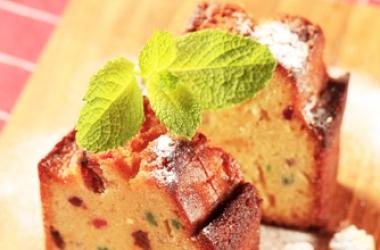 Кекс с изюмом и цукатами: рецепт английской выпечки