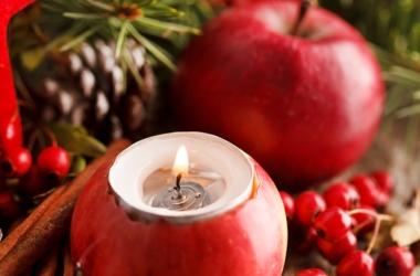 Как сделать подсвечник из фруктов (фото)