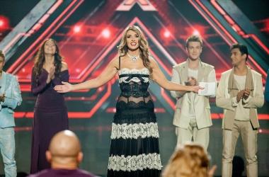 Стиль звезды: Оксана Марченко в прозрачном платье (фото)