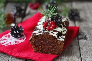 Шоколадный кекс: рецепт новогоднего стола