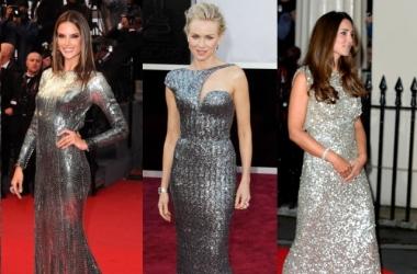 Платье к Новому году 2014: выбирай серебристое, как звезды (фото)