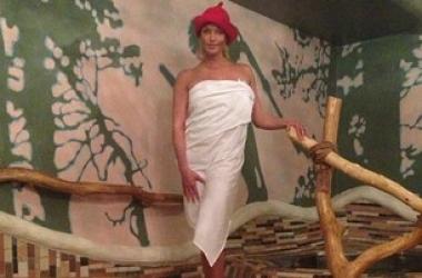 Анастасия Волочкова отправила своих подчиненных в баню (фото)