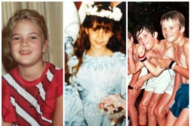 Самые неожиданные и забавные детские фото знаменитостей (фото)