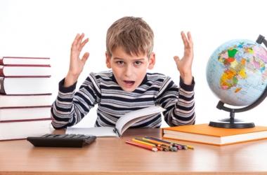 Истерика у школьника: как быть родителям