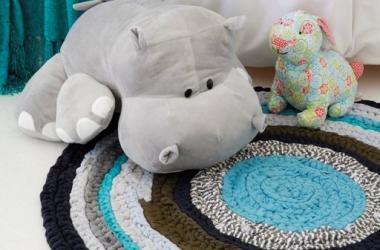 Как сделать коврик своими руками: простой фотоурок