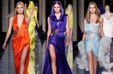 Вечерние платья 2014: роскошь и соблазн от Atelier Versace (фото)