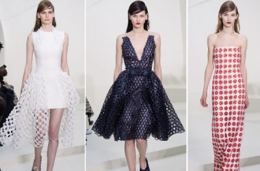 Мода лето 2014: Christian Dior одел модниц в воздух (фото)