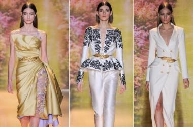Модные платья 2014: золотой показ Zuhair Murad в Париже (фото)