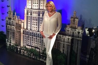Анастасия Волочкова поразила длиннющими ногами (фото)