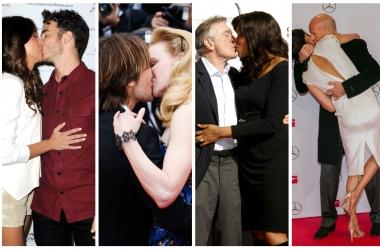 Звездное бесстыдство: самые страстные поцелуи знаменитостей (фото)
