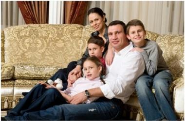 Супруга Виталия Кличко показала своих детей (фото)