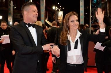 BAFTA 2014: Анджелина Джоли превратилась в Брэда Питта (фото)