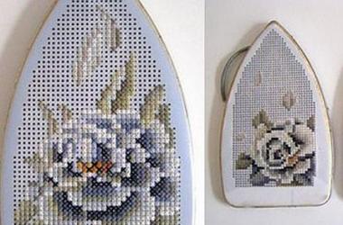 Как вышивать по металлу: необычное творчество (фото)