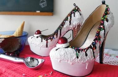Туфли как десерт: дизайнер создала почти съедобную обувь (фото)