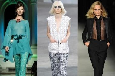 Модные блузы 2014: кутюрье предлагают свободу (фото)