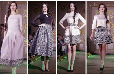 Анастасия Иванова показала коллекцию «Осень-зима 2014-2015» в старинном особняке
