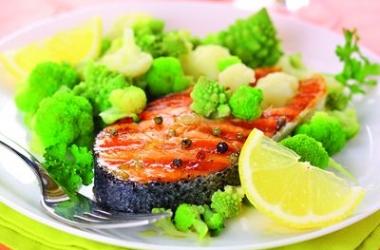 Семга-гриль с овощами: пальчики оближешь