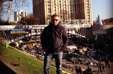 Леонид Агутин побывал на Майдане и назвал Киев любимым (фото)