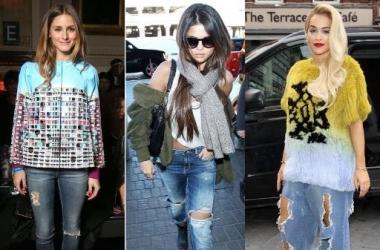 Мода весна-лето 2014: с чем носить рваные джинсы (фото)