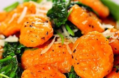 Ньокки со шпинатом: быстрый и вкусный рецепт