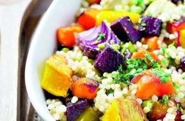 Великий пост 2015: готовим кускус с овощами