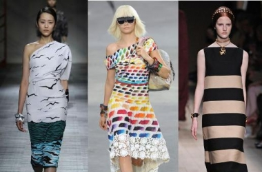 Модные платья весна-лето 2014: чем порадовали кутюрье (фото)