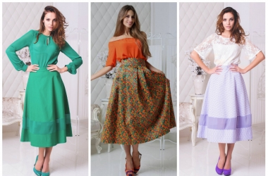 Мода весна-лето 2014: в тренде - юбка миди (фото)