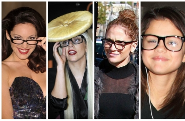 Звезды с плохим зрением: какие очки носят знаменитости (фото)