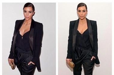 Модный провал: Ким Кардашян выставила себя на посмешище (фото)