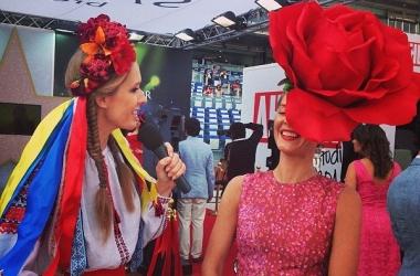 Катя Осадчая и Влада Литовченко удивили изящным патриотизмом (фото)