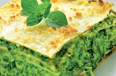 Легко и вкусно: лазанья со шпинатом. Рецепт (фото)