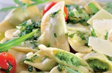 Равиоли с зеленью: легко и вкусно. Рецепт (фото)