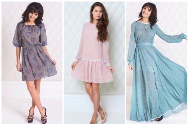 Мода весна лето 2014: в тренде - платья в горошек (фото)