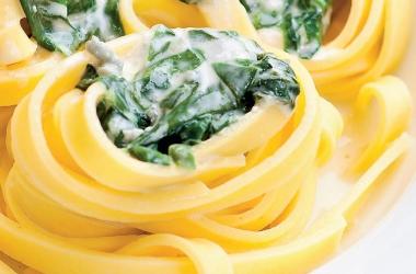 Тальятелле со шпинатом. Рецепт (фото)