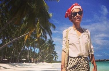 Ксения Собчак шокировала откровенным фото в нижнем белье (фото)