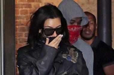 Модная катастрофа: Ким Кардашян в шокирующих лосинах (фото)