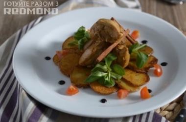 Готовим вместе с Redmond <br /> ароматный куриный карри