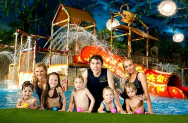 День защиты детей 2014 в ТРЦ Dream Town и аквапарке Dream Island